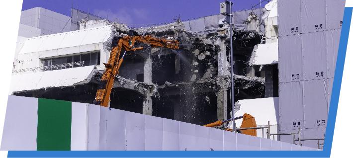 建設現場周辺設備レンタル